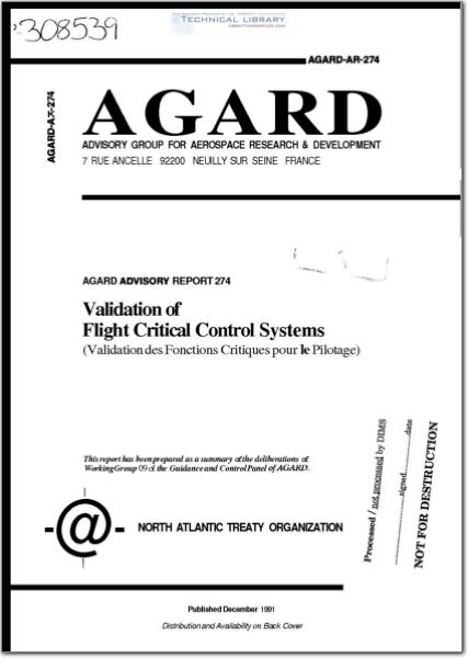 AGARD-AR-274