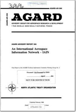 AGARD-AR-366 An International Aerospace Information Network - IAIN