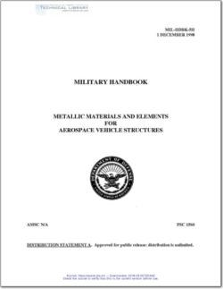 MIL-HDBK-5H Metallic Materials and Elements for Aerospace Vehicle Structures