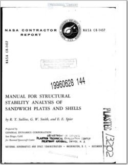 NASA-CR-1457 Manual for Structural Stability Analysis of Sandwich Panels