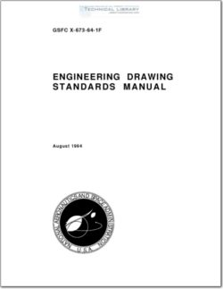 NASA-GSFC-X-673-64-1F Engineering Drawing Standards Manual
