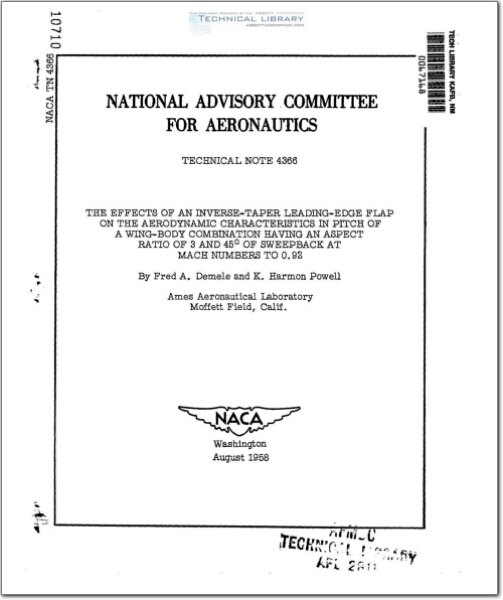 NACA-TN-4366