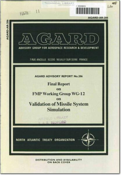 AGARD-AR-206