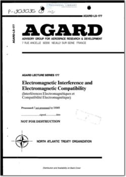 AGARD-LS-177 Electromagnetic Interference and Electromagnetic Compatibility