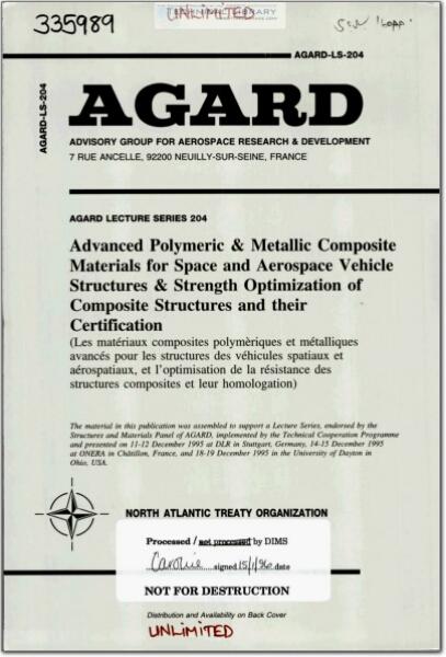 AGARD-LS-204