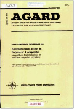 AGARD collection - bolted joints in composite