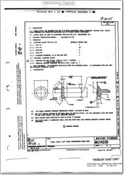 MS14218 Rivet, Solid, 120° Flush Interference Shear Head