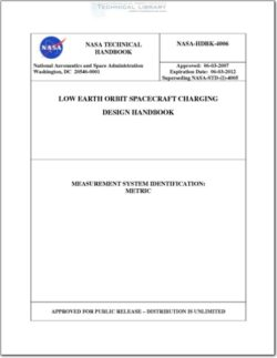 NASA-HDBK-4006 Low Earth Orbit Spacecraft Charging Design Handbook