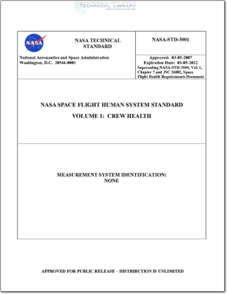 NASA-STD-3001, Volume 1