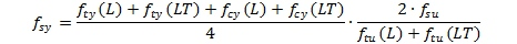 Shear Yield Equation