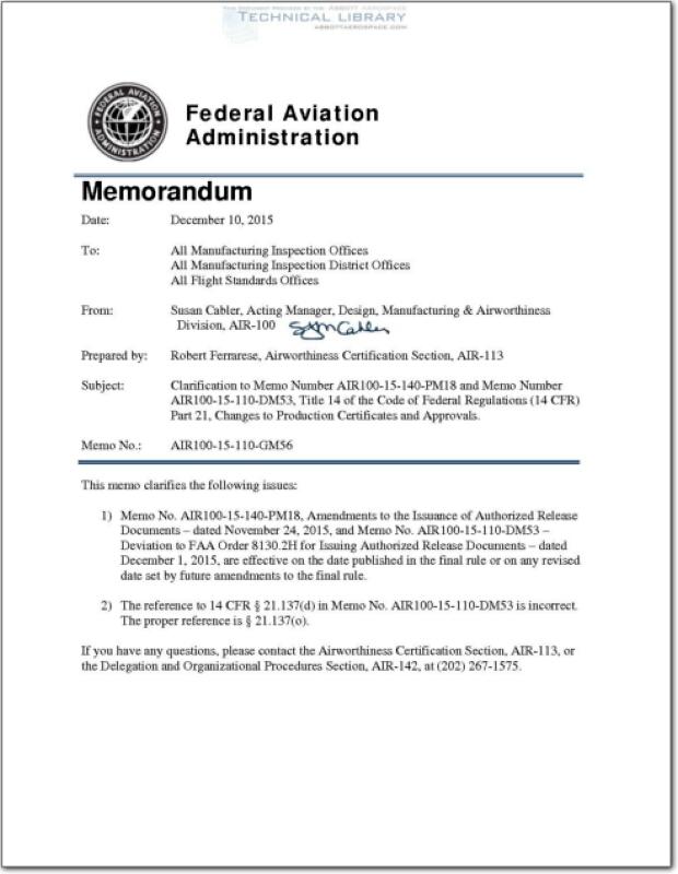 FAA-AIR-100-15-110-GM56