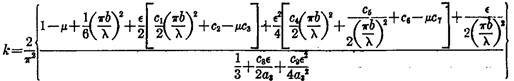 Mathematical Derivation of Flange Compression Buckling Coefficients