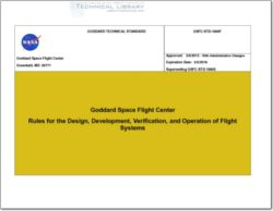 NASA-GSFC-STD-1000F Rules for the Design, Development, and Operation of Flight Systems