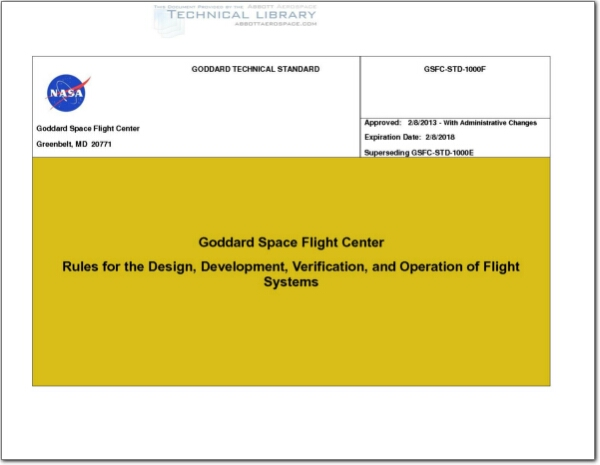 NASA-GSFC-STD-1000F