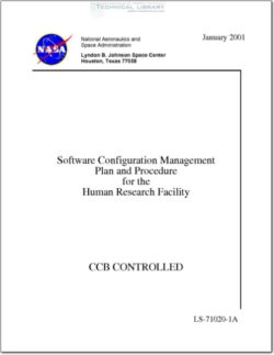 NASA-LS71020A1RA1 Software Configuration Management Plan and Procedure for the Human Research Facility