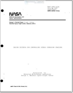 NASA-MSFC_522B Design Criteria for Controlling Stress Corrosion Cracking
