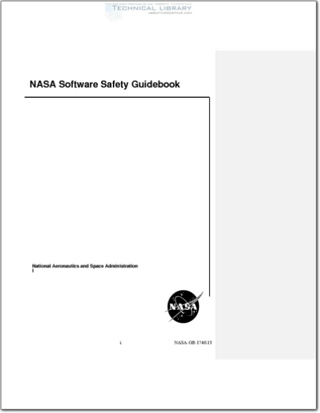 NASA SOFTWARE SAFETY GUIDEBOOK