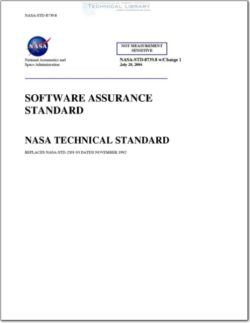 NASA-STD-8739-8 NASA Technical Standard