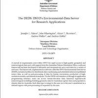 DSTO-TR-2875