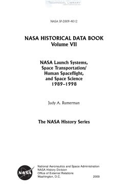 j-a-rumerman-nasa-historical-data-book-vol-vii-nasa-launch-systems-space-transportation-human-spaceflight-and-space-science-1989-1998-2009-1