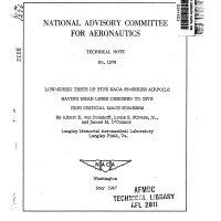 naca-rm-a53g09 : Abbott Aerospace SEZC Ltd
