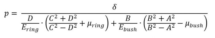 Combining these equations