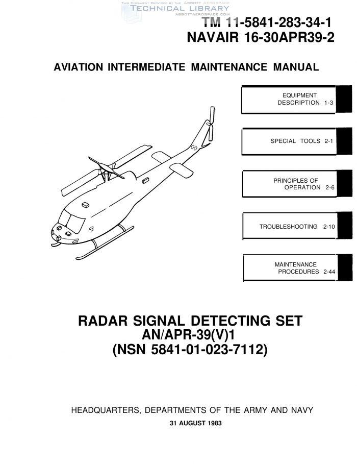 Army Tm 11 5841 283 34 1 Abbott Aerospace Sezc Ltd