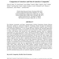 Comparison of Autoclave and Out-of-Autoclave Composites