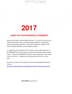 FAA Guide for Aviation Medical Examiners, 2017 : Abbott