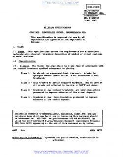 MIL C 26074 PDF
