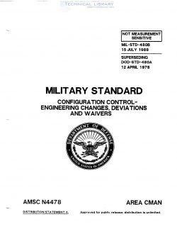 MIL-STD-480B - Abbott Aerospace SEZC