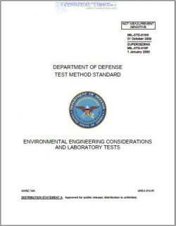 MIL-STD-810G Environmental Engineering Considerations and Laboratory Tests
