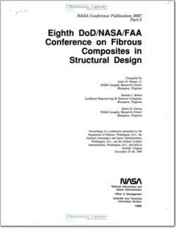 NASA Conference Publication 3087 Part 2