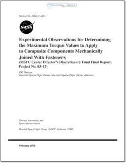 NASA-TM-2006-214323
