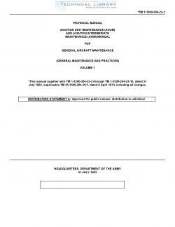 TM1-1500-204-23-1 Aviation Unit Maintenance and Aviation Intermediate Maintenance Manual